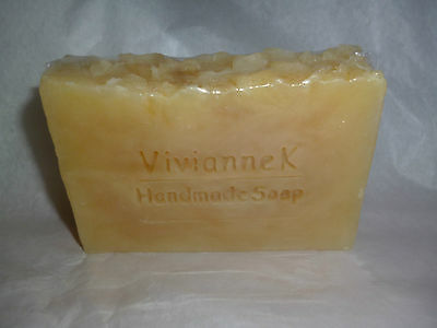 NEW - handmade real BEESWAX HONEY SOAP.  Fragrance free by Vivianne K.
