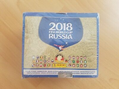 Panini WM Russia 2018 - Sticker - 1 Display (100 Tüten) (NEU & OVP)