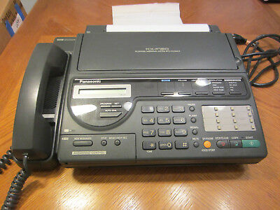 Vintage Panasonic KX-F150 Telephone Answering Machine System with Fax