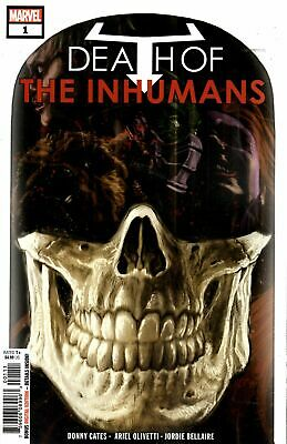 DEATH OF INHUMANS #1 (MARVEL 2018 1st Print) COMIC