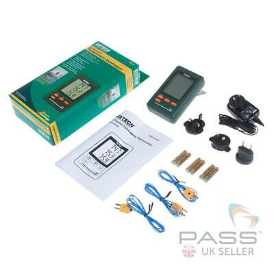 *NEW* Extech SD200 3 Channel Temperature Datalogger / Genuine UK Stock