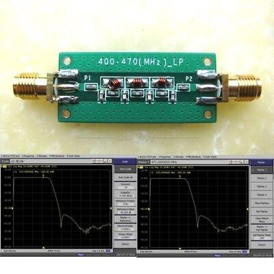 400-470Mhz 433Mhz Low-pass Filter LPF SWR