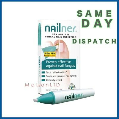 NAILNER  Pen 4ml 2in1 BEST Anti Fungal Nail 400 Application Fungus Infection