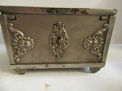 Savings Chest (Antique Cast Iron Still Bank)