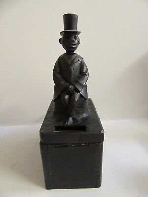 Abraham Lincoln (Antique Semi Mechanical Wooden Bank)