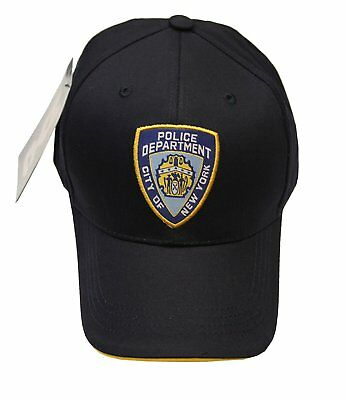 NYC FACTORY NYPD Baseball Hat New York Police Department Navy One Size