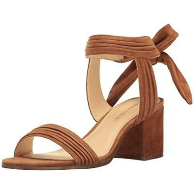 Ivanka Trump Womens Kiffie Block Heel Strappy Dress Sandals Shoes BHFO 0846