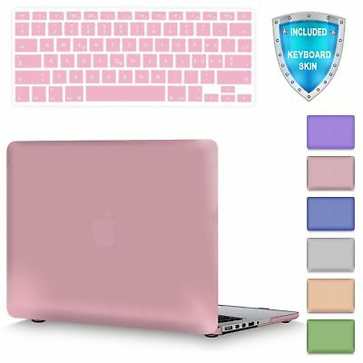 For MacBook Pro 15 A1286 Metallic Coated Plastic Hard Shell Case Keyboard Cover
