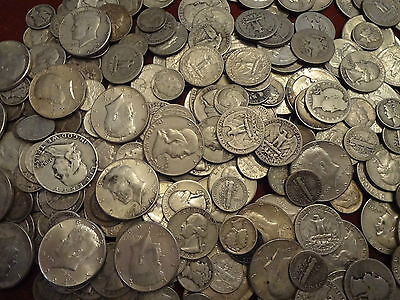 ($1.00)One Dollar Face Value Not Junk This is Survival Silver *FREE SHIPPING*.