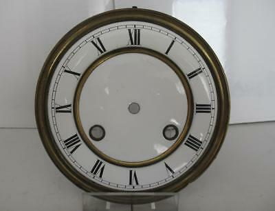 Antique Vienna Regulator Ceramic Time & Strike Dial  - Spares Parts Replacement