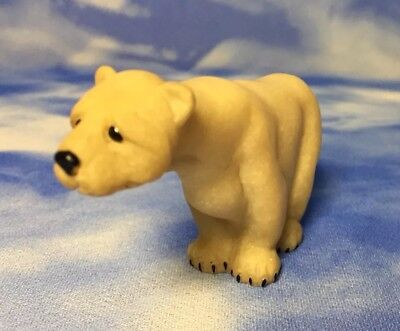 "Adorable 2"" Quarry Critters ""Phil"" Standing Polar Bear Figurine 1999"