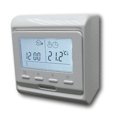 Digital thermostat thermostat blanc programmable #a857