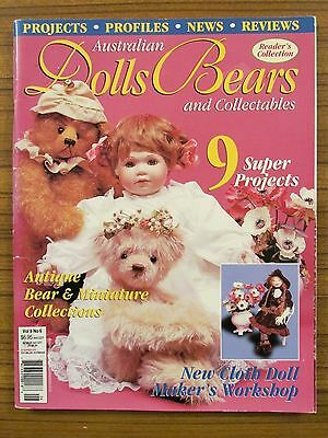 Australian Dolls, Bears & Collectables - Volume 8 No.6 2001 Bonnet Picaninni