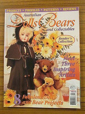 Australian Dolls, Bears & Collectables - Volume 7 No.8 2000