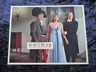 CARRY ON DON'T LOSE YOUR HEAD  lobby card #3 KENNETH WILLIAMS