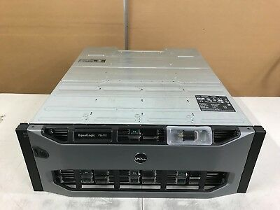 Dell Equallogic PS6110E ISCSI 48TB 24x 2TB SAS SAN Storage System 10GbE Type 14