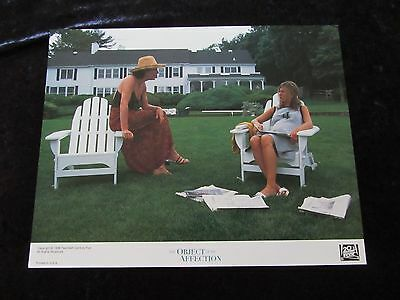 THE OBJECT OF MY AFFECTION lobby card # 7 JENNIFER ANISTON, ALLISON JANNEY