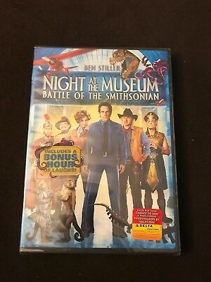 Night at the Museum: Battle of the Smithsonian (DVD, 2009) BRAND NEW
