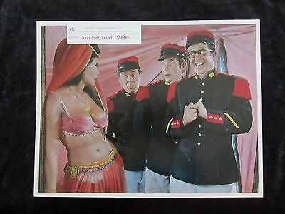 CARRY ON FOLLOW THAT CAMEL  lobby card #6 KENNETH WILLIAMS, PHIL SILVERS