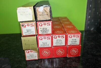 Vintage Player Piano Roll Lot of 12. QRS & Vocalstyle