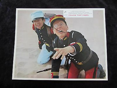 CARRY ON FOLLOW THAT CAMEL  lobby card #3 KENNETH WILLIAMS, PHIL SILVERS