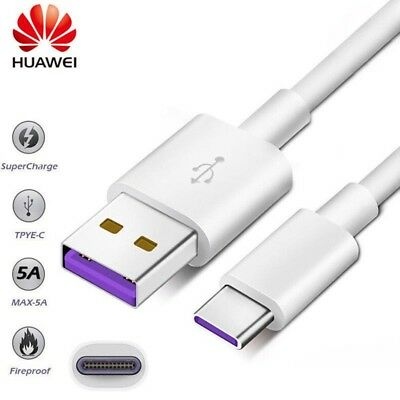 Fast Charging USB C Cable 5A Super Charge USB Type C fr Huawei Mate 10 LG