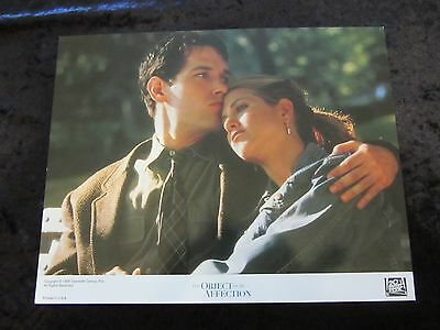 THE OBJECT OF MY AFFECTION lobby card # 1 JENNIFER ANISTON, PAUL RUDD