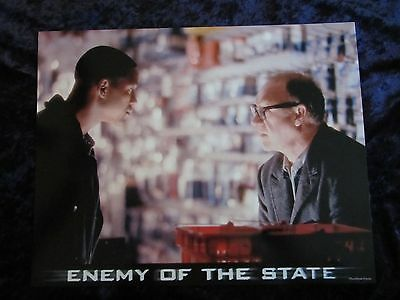 ENEMY OF THE STATE lobby card # 8 -  GENE HACKMAN, WILL SMITH