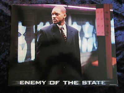 ENEMY OF THE STATE lobby card # 1 -  WILL SMITH poster