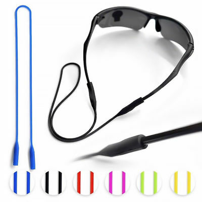 52cm Silicone Glasses Strap Chain Cord Holder Neck Eyeglass Lanyard For Sports