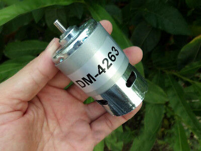 1pcs DC24V-36V 4000rpm-6000rpm 775 Low Speed Mute Large Torque DC Motor for DIY