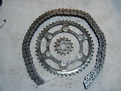 Yamaha Fazer 600 1998 5Dm Chain And Sprockets