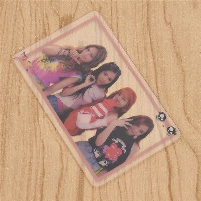 1Pc PVC BLACKPINK Members Transparent Card Photocard Kpop Collection Bookmark