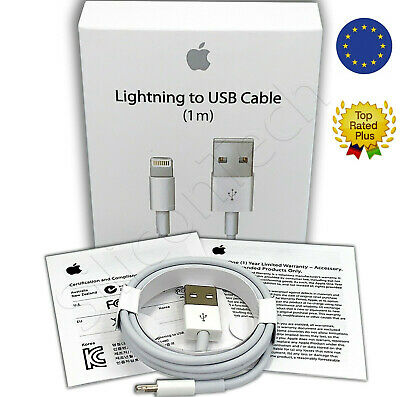 Genuine Charger Cable 1m Lightning to USB Cable Original for Apple iPhone X 7 6