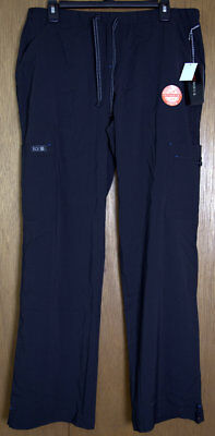 Koi Basics Women's Holly Solid Scrub Pants - Black Size: X-Small Regular - NWT