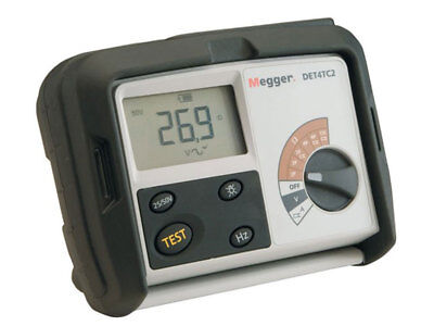 Megger DET4TC2+Clamps 1000-365 Contractor Series Earth/Ground Resistance Tester