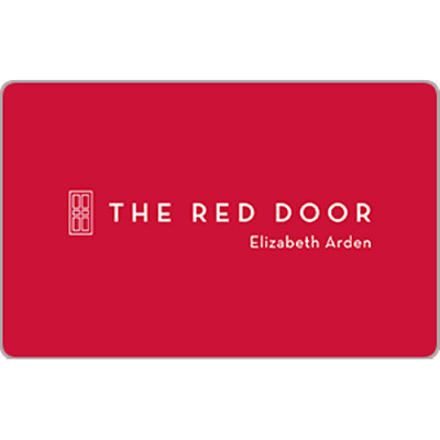 Red Door Spa Gift Card $75 Value, Only $70.00! Free Shipping!
