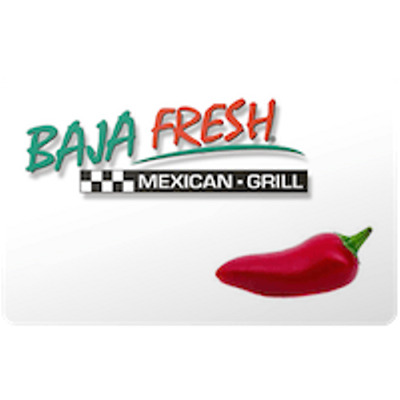 Baja Fresh Gift Card $25 Value, Only $23.70! Free Shipping!