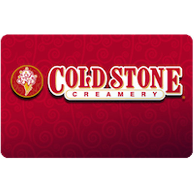 Cold S Creamery Gift Card $50 Value, Only $40.00! Free Shipping!