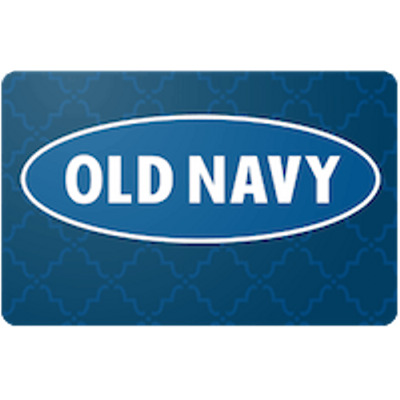 Old Navy Gift Card $500 Value, Only $480.00! Free Shipping!