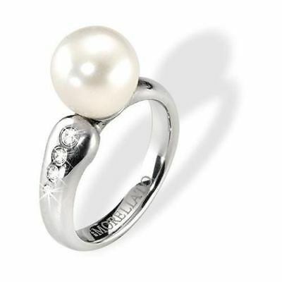 Women's Ring MORELLATO MAREE SZ911014 Steel Spendid and Pearl Size 14