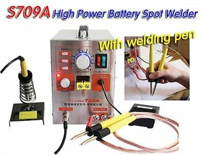 60A 1.9KW 220V Spot Welder Staion Battery Welding Machine 2 In 1 709A Solderi kb