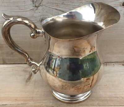 Vintage Wallace Silver Plate Water Pitcher #9432