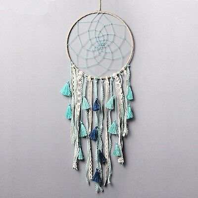 Dremisland Dream catcher Handmade Traditional White Feather Wall Hanging ... New
