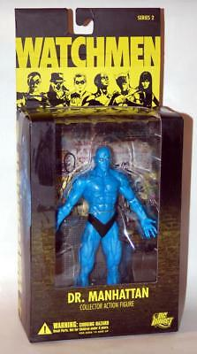 "Dc Direct Watchmen Series 2 Dr. Manhattan 7"" Action Figure - New In Package"