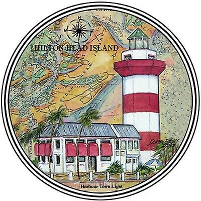 Hilton Head Absorbent Coasters New