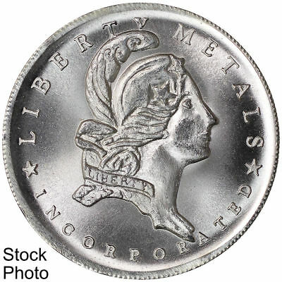 Liberty Metals Incorporated Rousseau Quote Reverse 1 oz .999 Fine Silver Round