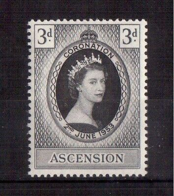 Ascension 1953 Set Mint Nh # 61, Coronation Issue !!
