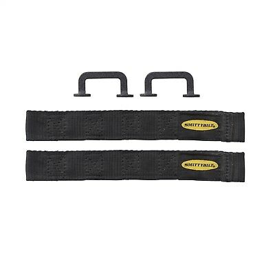 Smittybilt 769401 Door Check Strap Universal/Adjustable/No Drilling Installation