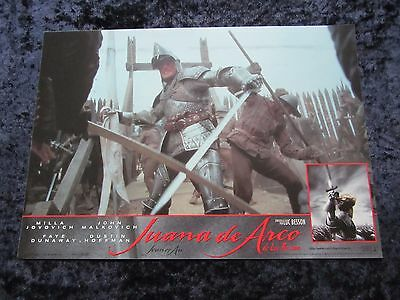 Joan Of Arc lobby cards Milla Jovovich, Luc Besson